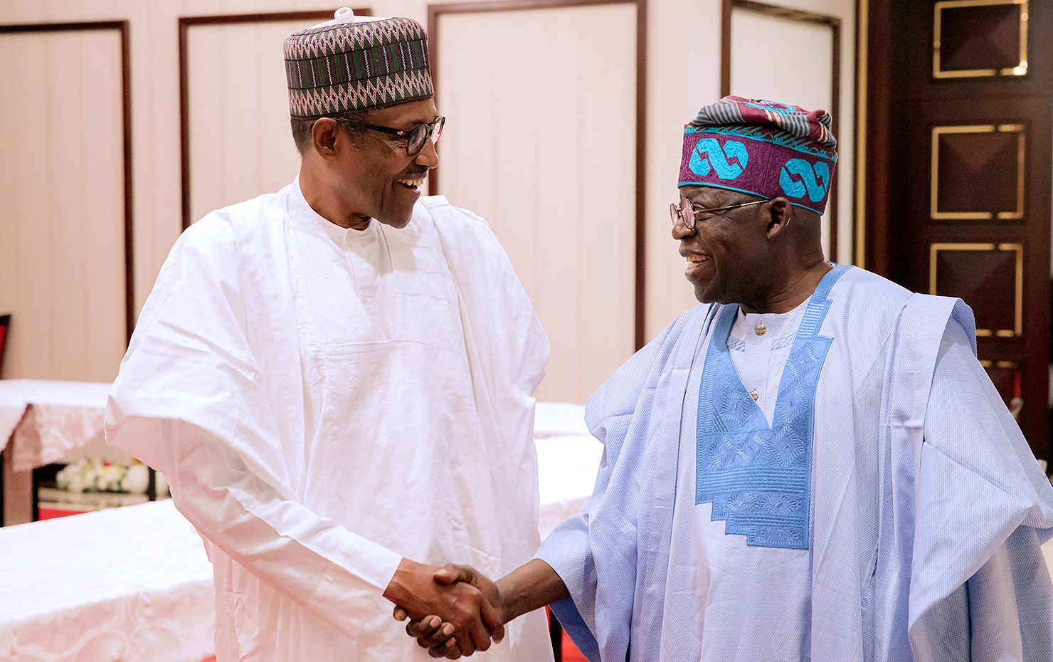 Image result for Buhari and Tinubu