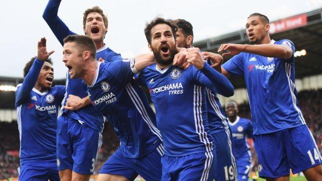 Chelsea FC  team [Photo: