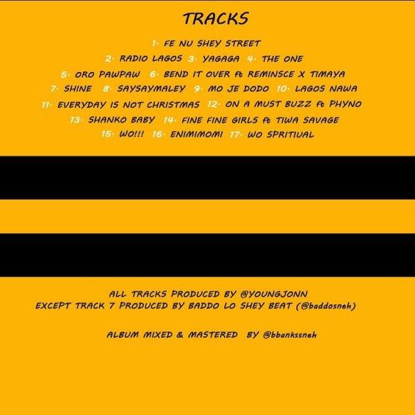 Olamide unveils artwork, track-list for new album - Premium Times