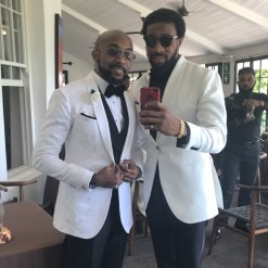 Banky W and his best man