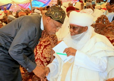 Atiku Abubakar and Minister of Culture and Information, Lai Mohammaed.
