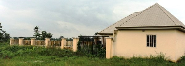 Abandoned Okposi Umuoghara Health care centre project