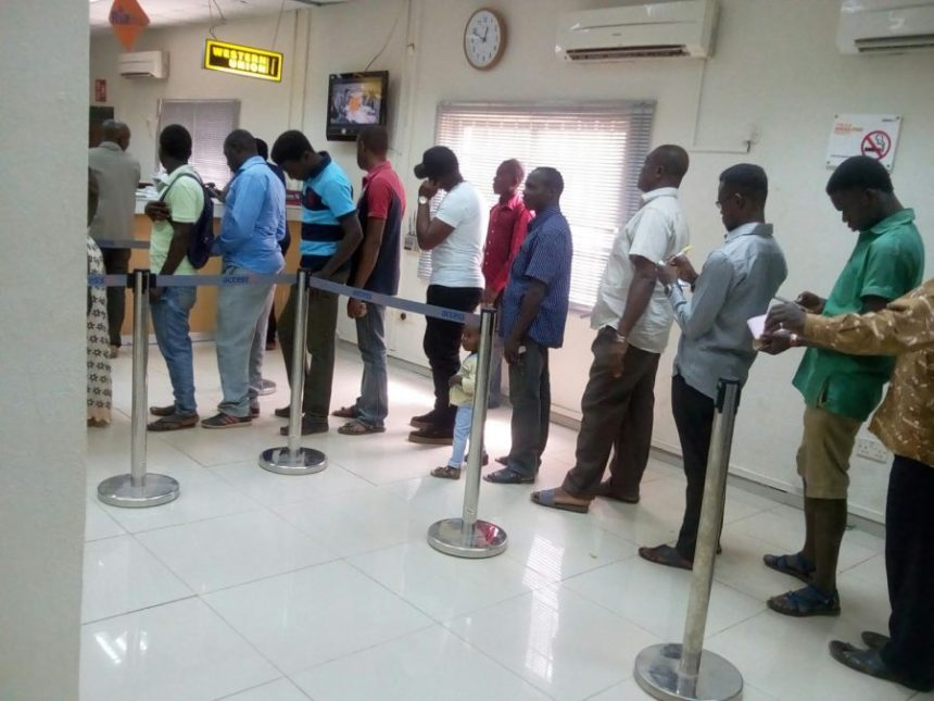 Bank queue