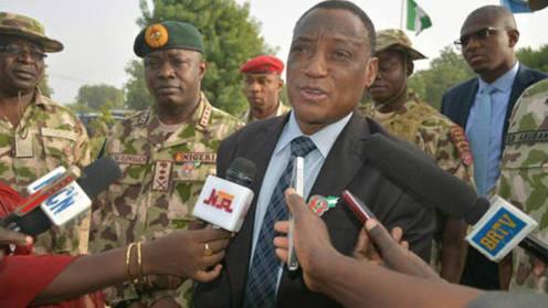 Defense-Minister, Mansur Dan-Ali