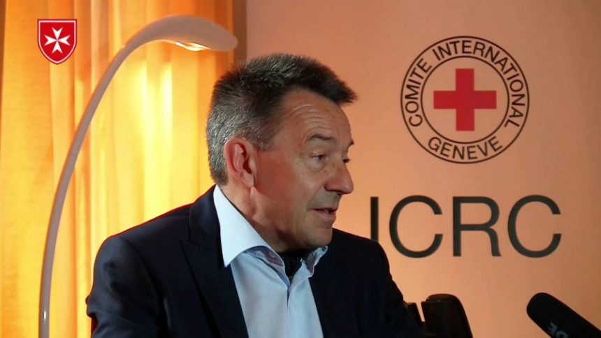 ICRC President, Peter Maurer. [Photo credit: YouTube]