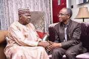 El-Rufai, Atiku, Emir Sanusi, Saraki, others visit Senator Goje over wife's death