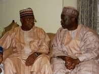 Senator Goje and Gombe State governor, Ibrahim Dankwambo