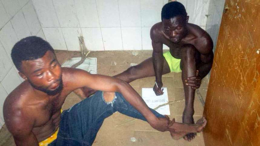 Alleged kidnappers