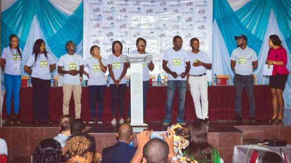 Unveiling of the Technoserve team at the event [Photo credit: Ebuka Onyeji]