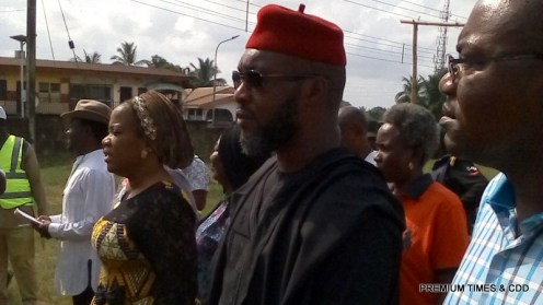 Osita Chidoka, the UPP candidate, arrived his polling unit 030 at Central School 3 at 9.55am, but the officials at the unit just started setting up.