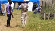 Bush cleared by INEC officials before voting