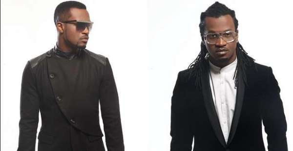 Paul and Peter Okoye of the defunct PSquare used to illustrate the story. [Photo credit: Pulse.ng]