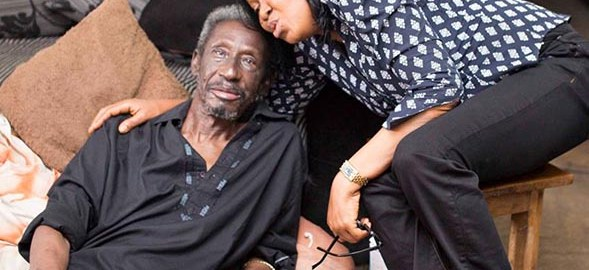 Sadiq Daba with Dr Joe Odumakin  (Photo:  Dr Joe Odumakin)