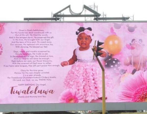 Tiwa's billboard