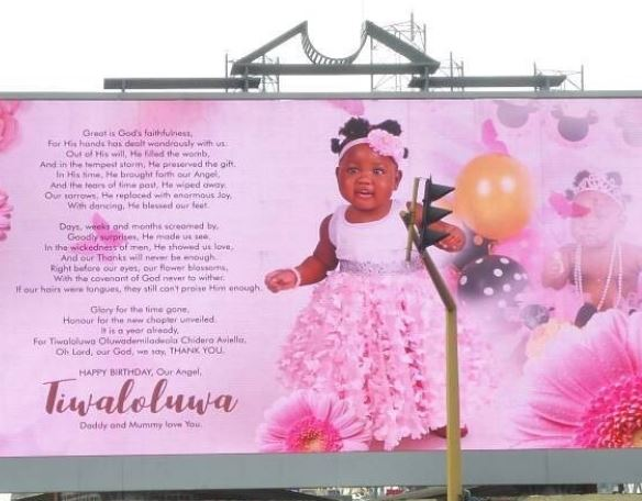 Tiwa's billboard