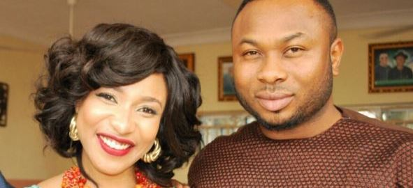 Nollywood actress, Tonto Dikeh and her ex-husband, Olakunle Churchill