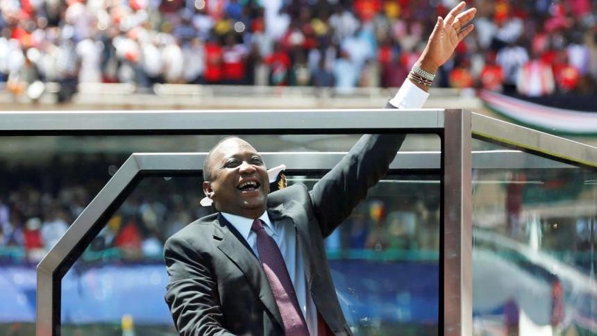 Uhuru Kenyatta inauguration