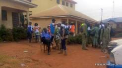 Presently at the RAC situated at Aguleri. They are distributing the election materials, SPO not in sight.