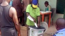 FILE PHOTO: Voting and accreditation in progress