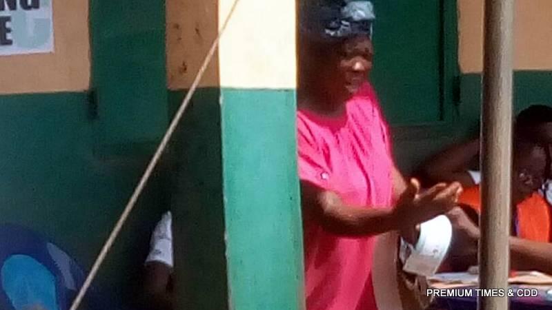 See and buy live at polling unit 008 umudioka primary sch awkuzu ward 2 ....Oyi LGA