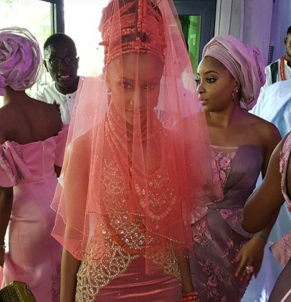 Adesua Etomi stuns in her wedding attire [Photo Credit: SCGeorge]