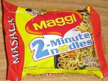 Maggi noodles used to illustrate the story. [Photo credit: The News Nigeria]