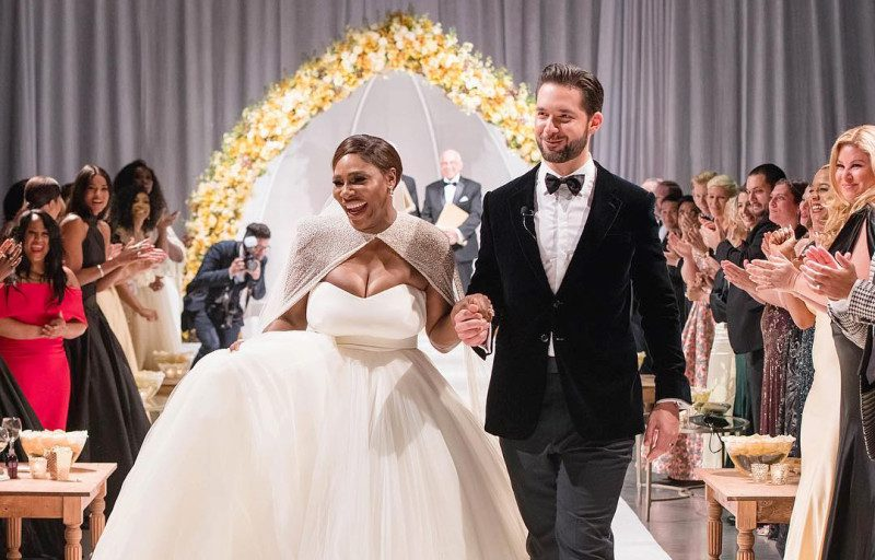 Kim Kardashian Gush about Serena and Husband Alexis Ohanian
