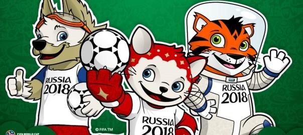 Russia 2018 Mascots