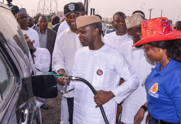 VP visits filling stations in Lagos by NOVO ISIORO1