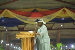 Wife of the General overseer.