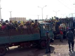 Hundreds of women in Amagu community, Abakaliki Local Government Area of Ebonyi State on Tuesday protested the arrest of their husbands and sons by the police.