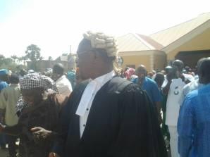 Teachers at the National Industrial Court in Kaduna on Thursday. Credit: Garba Muhammad.