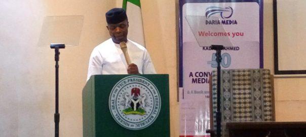 Vice President, Yemi Osinbajo.