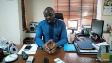 Seun Anibaba, Chief Executive Officer of Lagos State Lotteries Board (Photo taken by Ben Ezeamalu)