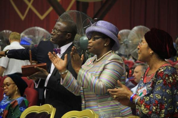 Former Education Minister, Oby Ezekwesili at the RCCG Holy Ghost Congress