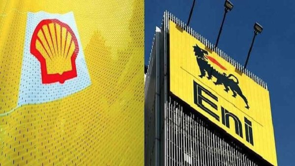Shell and Eni photo used to illustrate the story. [Photo credit: THISDAYLIVE]