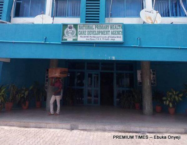 NPHCDA Head office in Abuja. (Photo taken by Ebuka Onyeji)
