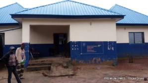 Adikwu-Icho PHC built during Jonathan administration. (Photo taken by Ebuka Onyeji)