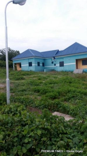 Well built but not well staffed PHC in Muye village, lapai LGA, Niger state.