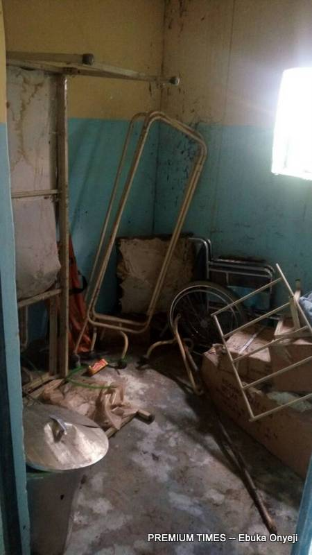 A store room Of a Nigerian PHC.