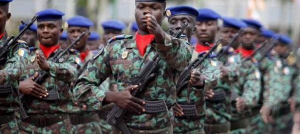 Ivorian soldiers used to illustrate the story. [Photo credit: Human Rights Watch]