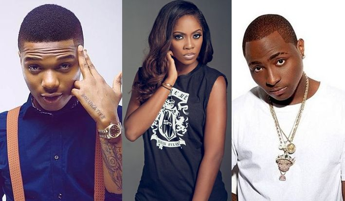 Davido, Wizkid, Tiwa Savage, top #SoundcityMVP nominees list