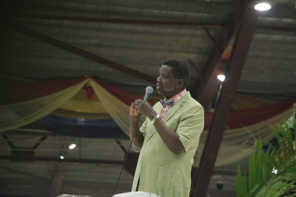 Pastor E.A Adeboye [Photo: Segun Komolafe, CEO SK enhanced image ventures]