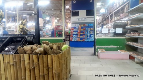 Next Cash and Carry food and vegetable section