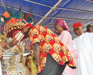 Femi Adesina, bags chieftaincy title in Enugu [Photo Credit: Femi Adesina Facebook Page]