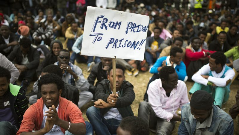 Israeli government orders African migrants to leave or go to jail