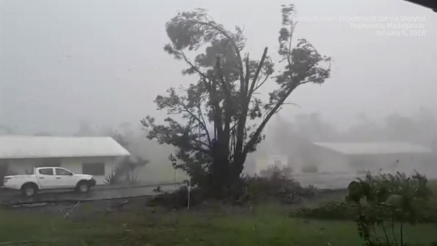 A Cyclone used to illustrate the story