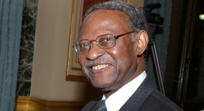 former Secretary General of the Commonwealth, Emeka Anyaoku. [Photo credit: Qed.ng]