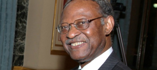 former Secretary General of the Commonwealth, Emeka Anyaoku. [Photo credit: Qed.ng]