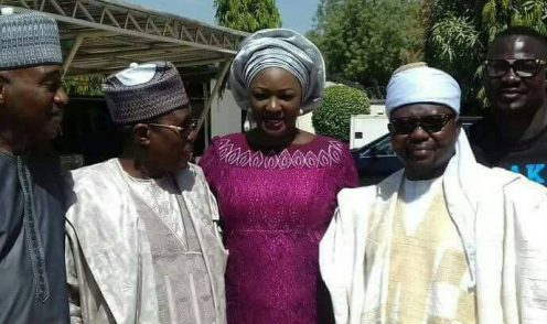 Cyril Stober, Weds colleague, Elizabeth Banu. [Photo credit: Nigerian Television Authority (NTA)]